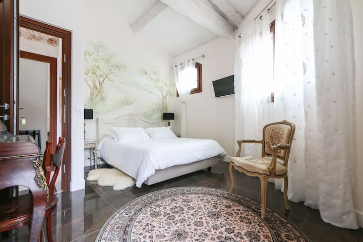 Amazing sea view villa up to menton - Castillon - Bed & Breakfast