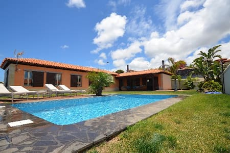 LUXURY VILLA ,PRIVATE HEATED POOL, - Tacoronte