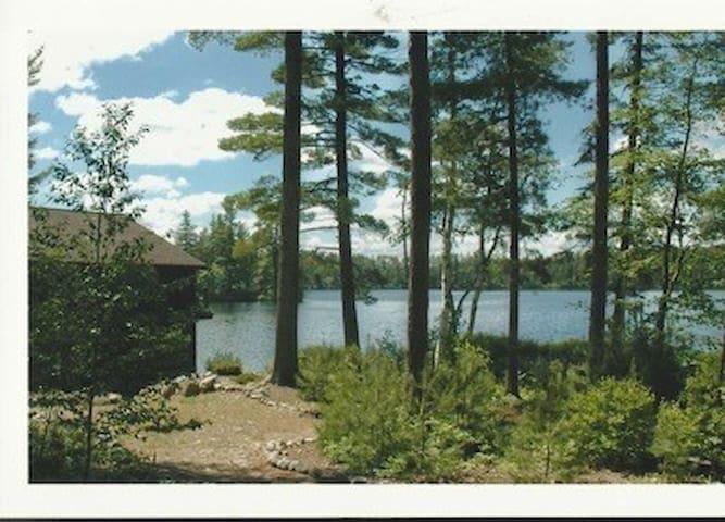 Loon Landing, Rainbow Lake, Adirondacks