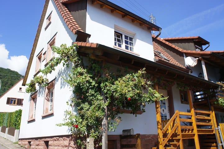 Ferienhaus Waldelfe - Wernersberg - Talo