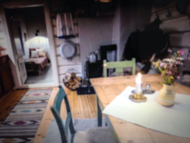 charming loghouse at dairyfarm - Génova - Apartamento