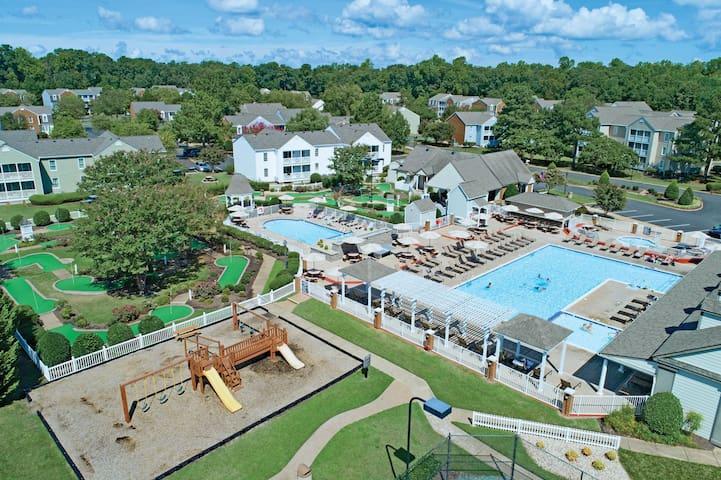 Kingsgate Resort in Colonial Williamsburg    1BR  