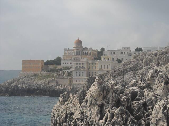 Casa vista mare a santa cesarea