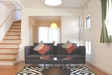 【Luxury】The Happy Zebra House in Kagoshima 3BR