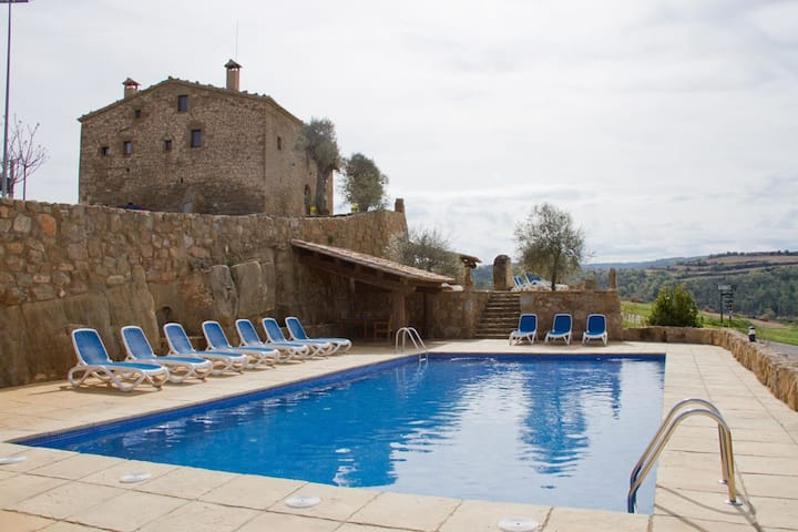 Rustic Villa in Lloberola with Swimming Pool