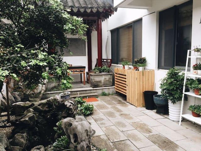 平江路上别墅里的丁香5号近观前街狮子林拙政 - Suzhou - Villa