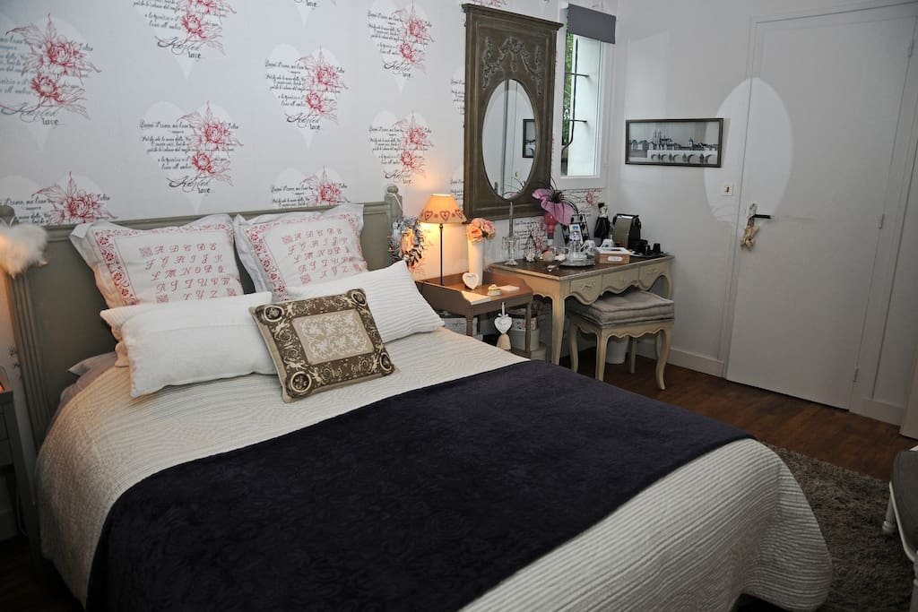 chambre d 39 h tes les mots de coeur vannes le port townhouses for rent in vannes bretagne france. Black Bedroom Furniture Sets. Home Design Ideas