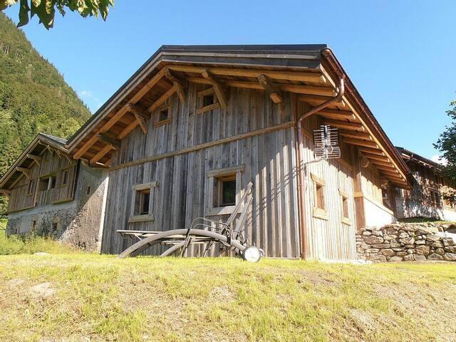 Mazot au pied du Mont Blanc - Saint-Gervais-les-Bains - Apartment