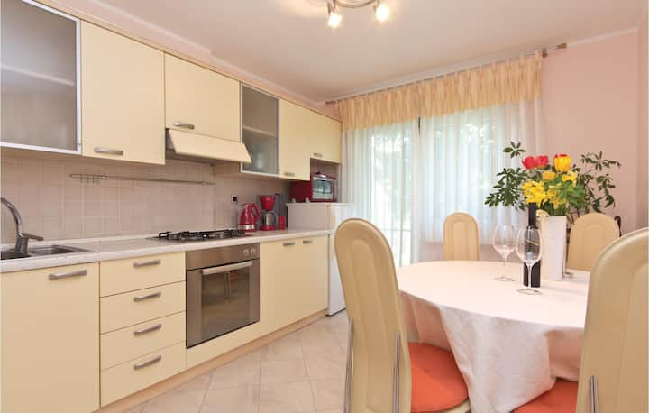 Awesome home in Pula with WiFi and 1 Bedrooms
