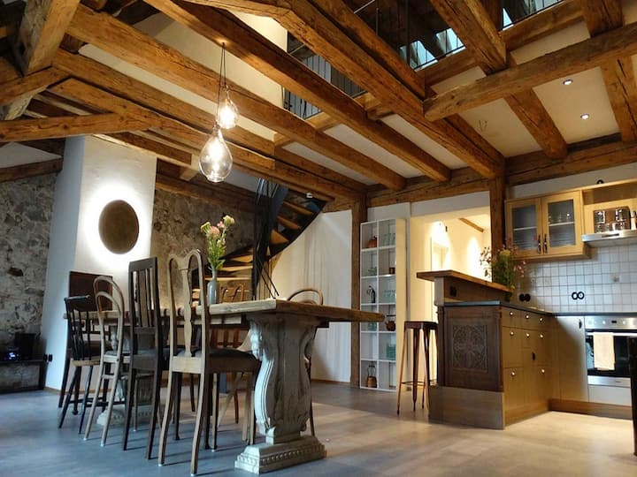 Loft 1728, (Lindau am Bodensee), Loft mit 290qm, 2 Schlafzimmer, max. 10 Personen