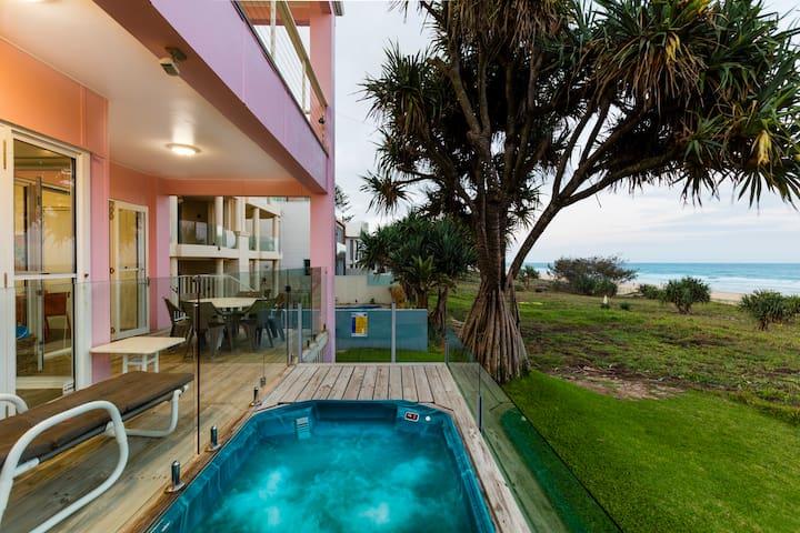 BEACH HOUSE -  BEACH FRONT-