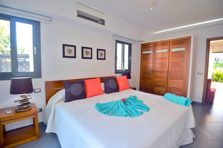 1-bd condo in beachfront complex (C4) - Las Terrenas - Apartment