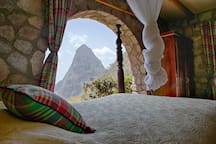 Another bedroom Piton view thanks to the villa's perfect location and layout.