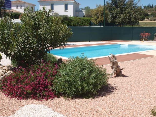 maison et piscine - Nézignan-l'Évêque - Casa