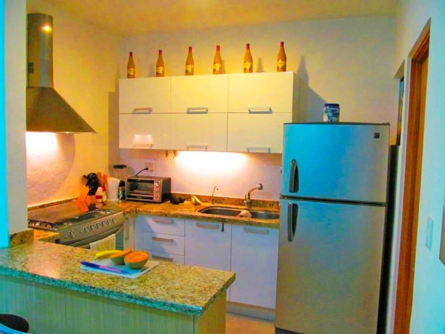 Equiped Kitchen