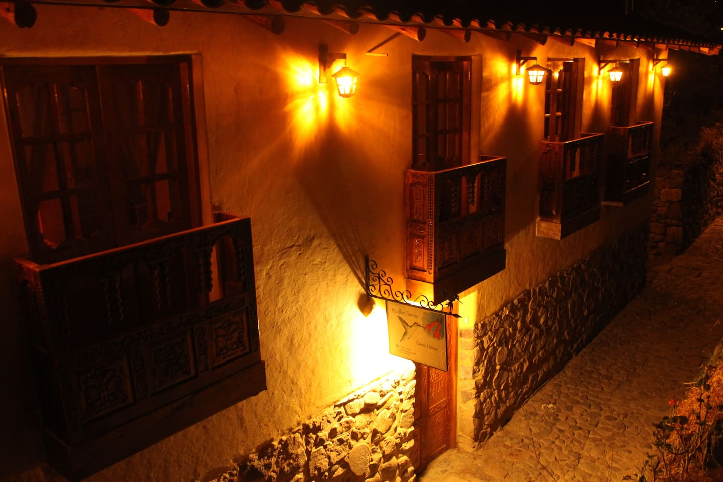 Picaflor Tambo, we offer 6 individual rooms  starting from 60USD.