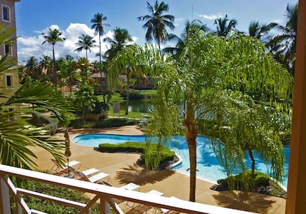 PV-Poolside Condo, Steps to Beach - Humacao