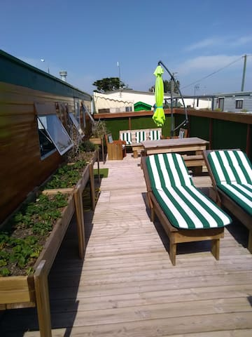 Location Mobile-Home au bord de la mer