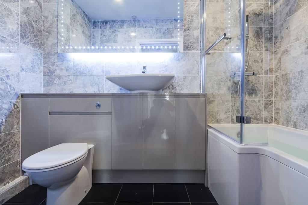 Brand new bathroom!