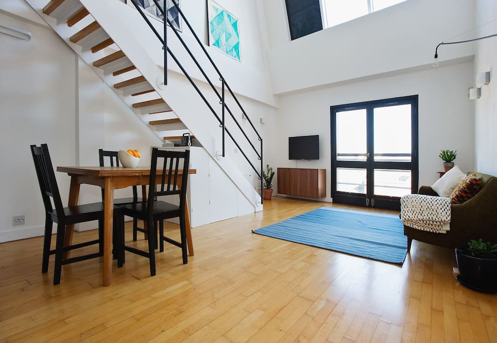 Warehouse Loft By Riverside Wapping Lofts For Rent In London United Kingdom