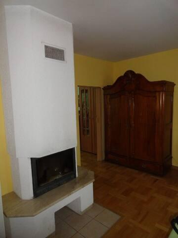 Apartament z kominkiem w spokojnej dzielnicy - Lublin - Lägenhet