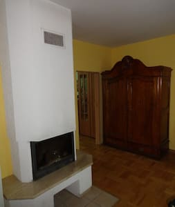 Apartament z kominkiem w spokojnej dzielnicy - Lublin - Apartment