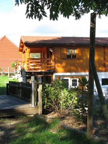 Chalet avec sauna et bain bouillonnant - Mitzach - Lomamökki