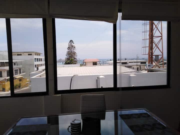 Departamento en Manta, Ecuador. Dos personas  $ 60