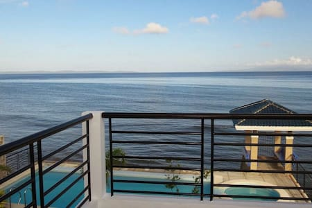 Idyllic view of the sea with pool - Allen - Bed & Breakfast