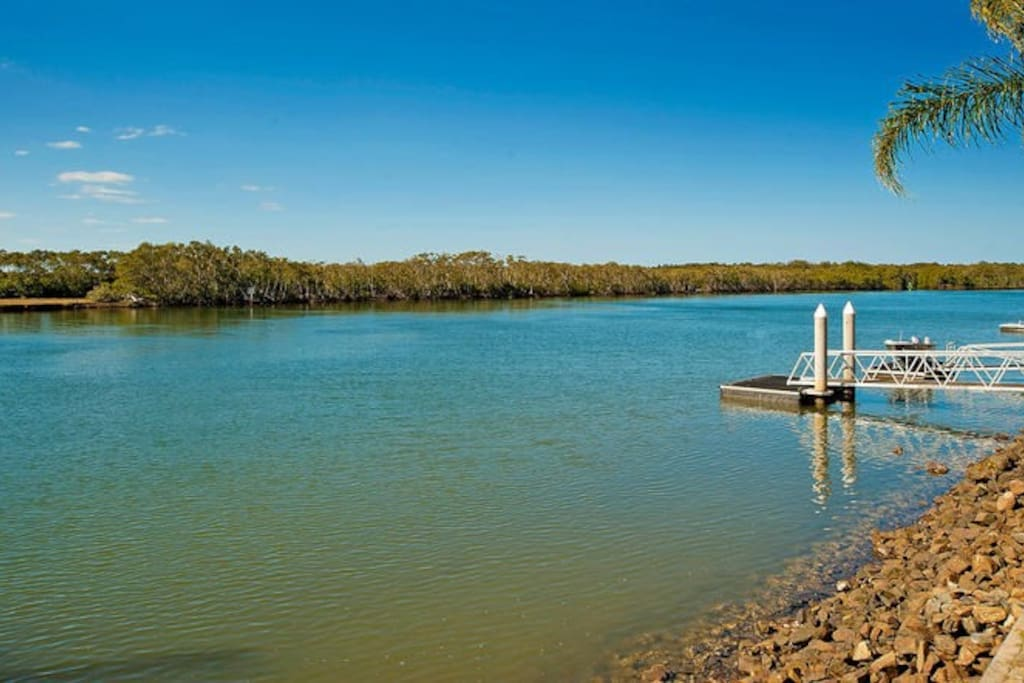Overlooking the Coomera River & National Park