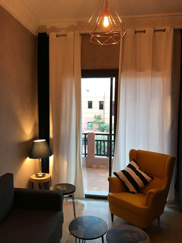 Bel appartement Jardins de l'Atlas/Marrakech.