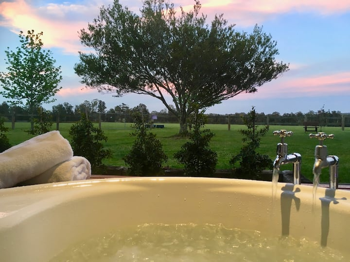 Kingfisher Pavilion B&B Spa.  Featured in SMH