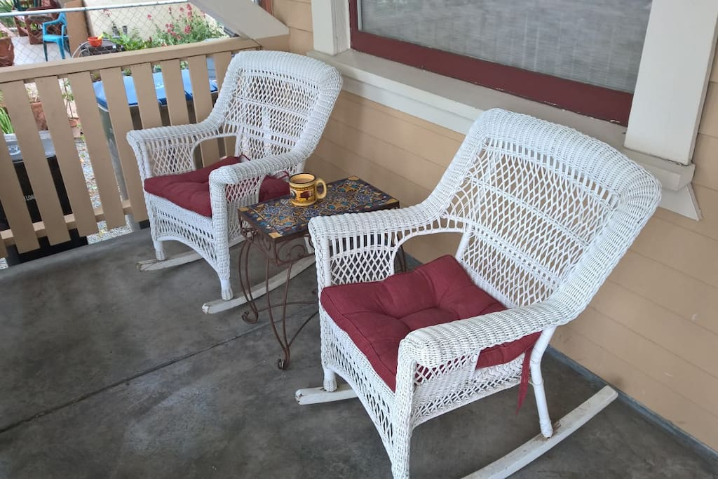 Relax on he front porch