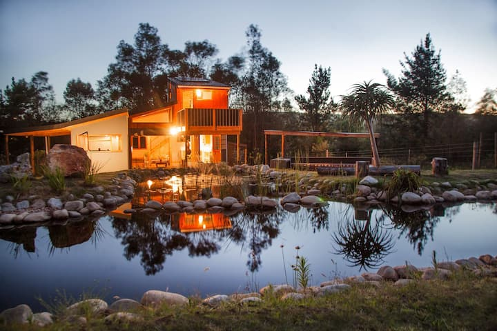 The Blue Lotus: Stylish Off-The-Grid Home