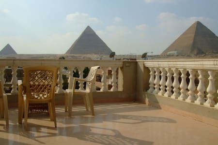 Pyramids View 2 bedrooms apartment - Каир
