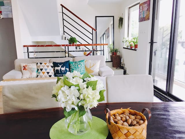 Sunny Spacious Holiday House in Yuen Long 20分钟到落马洲