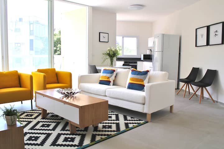 Dizengoff -  Modern 2 bedrooms with Balcony