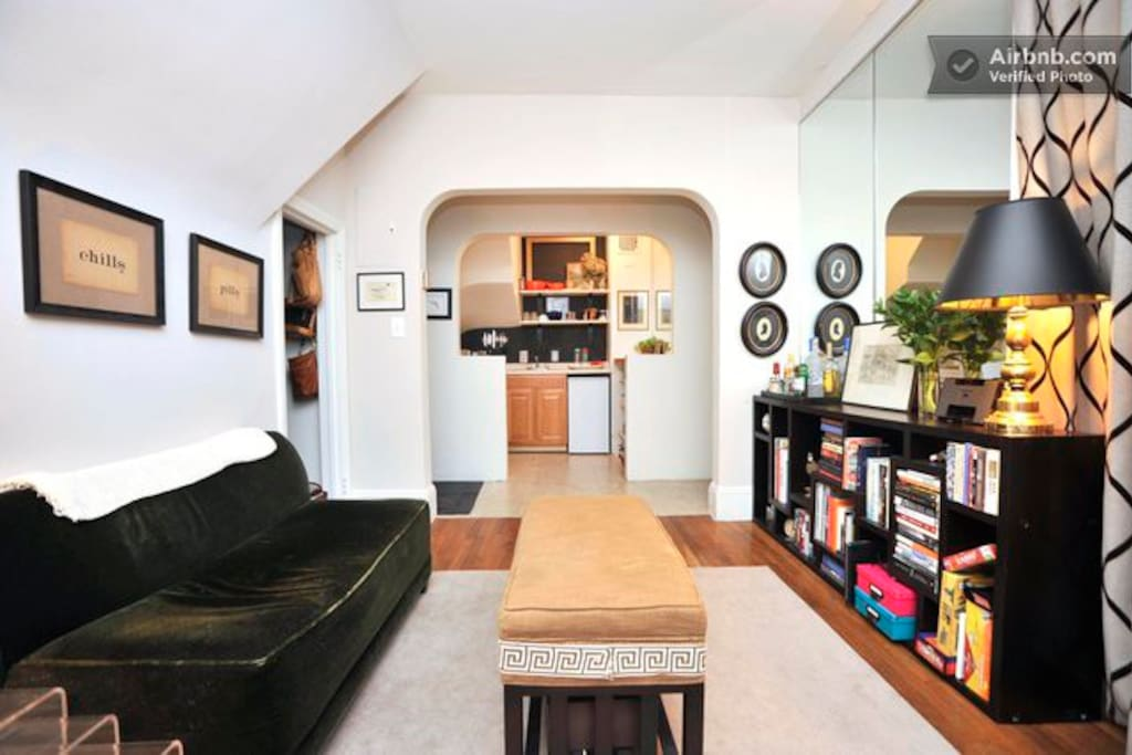 charming alcove studio w terrace apartments for rent in new york new york united states. Black Bedroom Furniture Sets. Home Design Ideas