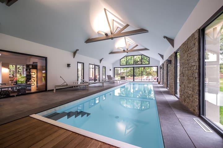 chambre Optimist , piscine , sauna
