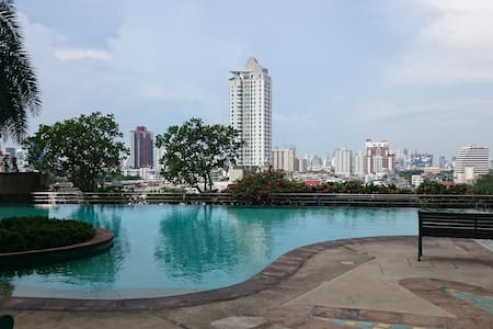 Bangkok view near city center
