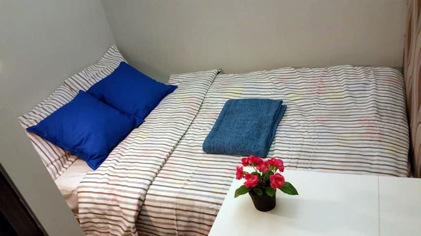 HKMC14-B 3min to MTR:Privat BATH,WIFI,AIRCON