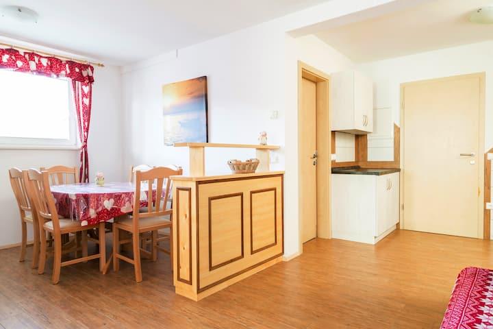 Apartmaji manglc- red apartment