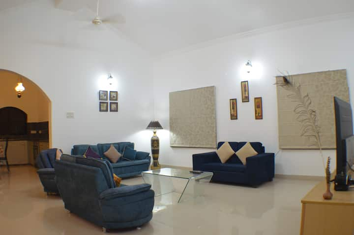 Casa Sunset 3BHK Private Pool by Laze Around Us