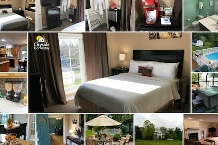 Hazel Hold'Em Room (Queen) | Breakfast & Amenities - Elizabethtown - Casa