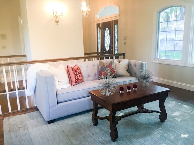 Lg Private Home near Stanford- 2 bedr+office+patio - Woodside - Casa