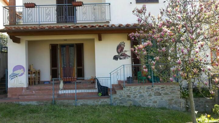 Appartamento in Loro Ciuffenna sul fiume omonimo