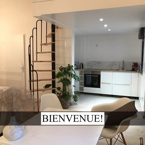 Petit Loft cosy (+parking)