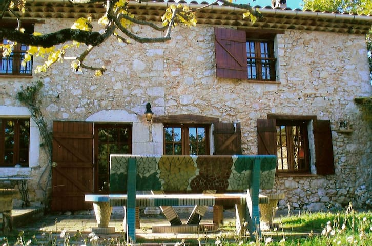 Magnificent Provencal farmhouse - Mons - Dom