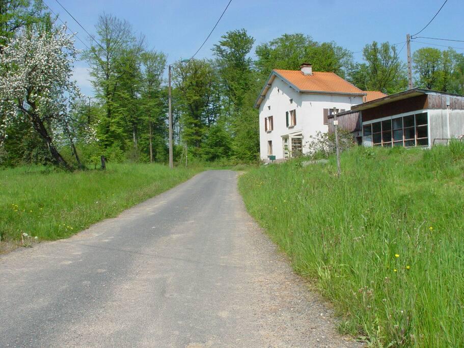 B&B De oude weg, ideaal gelegen voor de natuurliefhebber