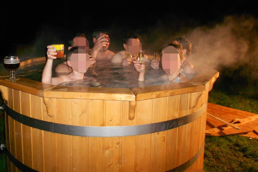 Moment inoubliable dans le spa norvégien!